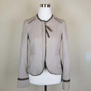{FREE•PEOPLE} Lightweight Quilted Peplum Jacket
